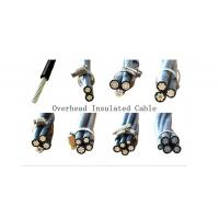 Buy cheap PE Insulation Aluminium Aerial Bundled Cable Strong Temperature Resistant from wholesalers