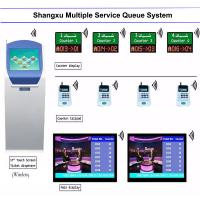 Buy cheap Bank/Hospital/Clinic Service Center Counter Arabic /French /English Multilingual Queue Management System,Queueing System from wholesalers
