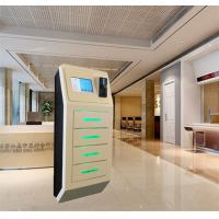 Buy cheap Airport 4 Door Secure Locker Cell Phone Charging Stations With Advertisement Digital Signage from wholesalers