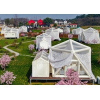 Buy cheap Internet Celebrity House Hotel Restaurant Commercial Outdoor Transparent Scenic Starry Sky Inflatable Lawn Tent Bubble from wholesalers