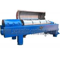 Buy cheap Automatic  Decanter Centrifuge / Centrifuge Filter System For Calcium Hypochlorite Dewatering from wholesalers