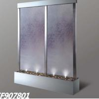 China Stainless steel water feature on sale