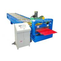 Buy cheap Garage Steel Roller Door Frame Roll Forming Machine , High Capacity from wholesalers