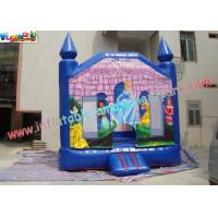Buy cheap Home use or Commercial Princess Bouncy Castles Inflatable,Blow up Jumping product