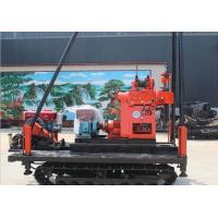 Buy cheap Full Hydraulic Crawler Mounted Drill Rig 220V / 380V 6655 * 2150 * 2850 Dimension from wholesalers