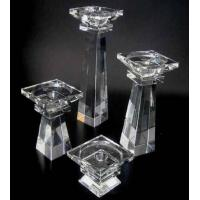 Buy cheap Beautiful crystal lotus candle holder from wholesalers
