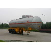 Buy cheap 58,000L LPG Liquefied Petroleum Gas Tanker TRUCK Transportation product