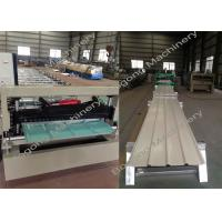 Buy cheap Metal Roofing Sheet Making Machine / Steel Metal Roof Roll Forming Machine from wholesalers