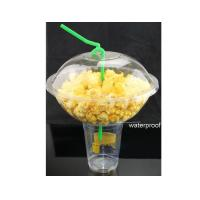 Buy cheap Popcorn Bowl Combines Smoothie Cups For Milky Tea and Popcorn Bowl from wholesalers