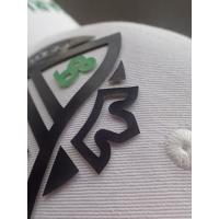 Buy cheap Hot - Glue Backing 3D Logo Screen Printing Label / Custom Printed Patches from wholesalers