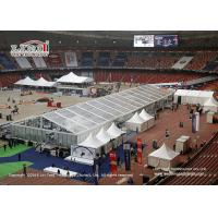 Buy cheap Tear Resistant Sport Event Tents With Transaprent Roof Covers With Light And Some Tanles from wholesalers