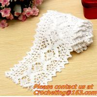 Buy cheap 5.5cm Good quality white cotton lace, trimming lace,crocheted lace for diy,garment accesso from wholesalers
