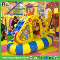 Buy cheap helicopter swing machine_soft amusement park ride  Electric plane soft play rider for kids from wholesalers