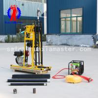 Buy cheap Hot sale  hydraulic core drilling rig/50meters  rock core sampling drilling rig/light exploration equipment from wholesalers