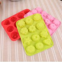 Buy cheap Flower Cocktail Silicone Ice Cube Molds 87g Lightweight Decorative from wholesalers