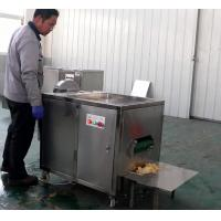 China High Capacity Banana Chips Production Line Green Banana Slicing Machine 0.74kw Power on sale