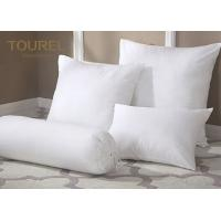 Buy cheap 100% Polyester Fiber Ball Quilted Hotel Comfort Pillows Microfiber Filling from wholesalers