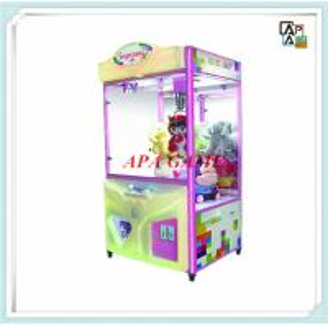 China Angle Baby large plush toy crane machine game  hot sale on sale
