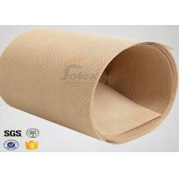 Plain Width Ptfe Coated Fiberglass Cloth for Food Baking / Heat Sealing Machine Manufactures