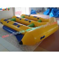 Buy cheap Customized 0.9MM PVC Tarpaulin Inflatable Boat Toys Towable Flyfish For 6 Person Use from wholesalers