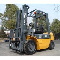2.5T Gasoline LPG dual fuel industrial forklift truck with Japanese NISSAN K25 engine