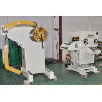 Buy cheap 400mm Width Decoiler Straightener Press Feeding Equipment For Electric Hydraulic Hole Puncher from wholesalers