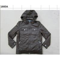 Buy cheap stock boy pu jacket from wholesalers