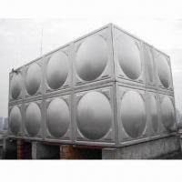 Buy cheap Combined Stainless Steel Water Tank in Various Volume, without Large Hoisting from wholesalers