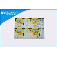 Wholesale Self Adhesive Custom Paper Label Stickers For Food Packaging , Glosy Surface from china suppliers