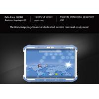 Buy cheap Handheld Android Industrial Tablet Wireless Android PDA Thermal Printer GPRS GPS Wifi Bluetooth Free SDK from wholesalers