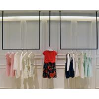 Buy cheap Simple Design Hanging Clothes Display Rack / Retail Clothing Racks 3 Meters Height from wholesalers
