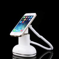 China COMER secure display cell phone alarm sensor magnetic stand with charger function for retail stores on sale