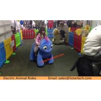 Buy cheap Indoor Playground Walking Stuffed Animals Animal Riding Plush Electrical Animal Toy Rides from wholesalers