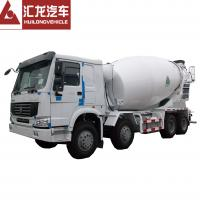 Buy cheap Heavy Duty HOWO 8*4 12 CBM Mini Concrete Mixer Truck Diesel High Operating Efficiency from wholesalers