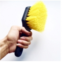 Buy cheap Yellow 8.8 Inch Car Wheel Cleaning 200g Brush Cleaning Tools from wholesalers