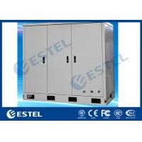 Buy cheap Three Bays Stainless Steel Outdoor Telecom Cabinet With Three Front Doors from wholesalers