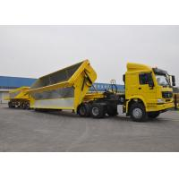 Buy cheap 60 Ton - 200 Ton Hydraulic Side Dump Semi Trailer For Coal And Mineral Delivery from wholesalers