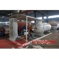 Buy cheap Customized CLW 5ton gas cylinder LPG bottling plant 50000 liters lpg gas station for sale, skid lpg gas dispensing plant from wholesalers