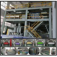 High Speed PP Non Woven Fabric Making Machine compact construction 0 - 250m/min Manufactures