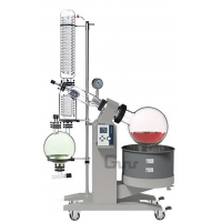 Buy cheap CE ISO Certified 20L Rotovap Rotary Evaporator R-1020CE Essential Oil Steam Distillation from wholesalers