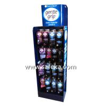 Buy cheap Socks POP Corrugated Pegboard Display,Hook Displays in Store from wholesalers