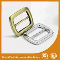 Wholesale Zinc Alloy Brass / Silver Metal Buckles For Shoes , Customizable from china suppliers