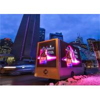 Buy cheap Canada Truck Mobile Outdoor Advertising LED Display 6x3m 6000nits Brightniess from wholesalers
