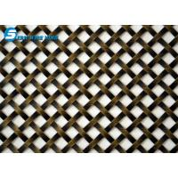 Wholesale Flat-Wire Decorative Mesh Colorado Stainless Steel 36 X 48 from china suppliers