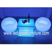 Buy cheap Commercial LED lounge Furniture , apple shape Illuminated LED bench light from wholesalers