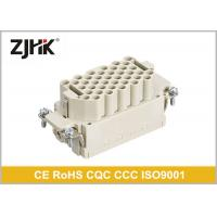 Buy cheap 16 Amp 40 Pin Heavy Duty Rectangular Connector With Glass Fibre Reinforced PC from wholesalers