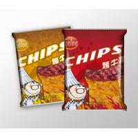 Customized Potato Chips Plastic Packaging Bags with Heat Seal Manufactures