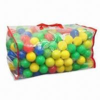 Wholesale Fun PE Toy Balls in PVC Bag, Various Colors and Sizes are Available from china suppliers