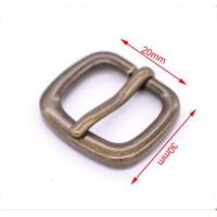 Buy cheap Zinc Alloy Metal Strap Buckles For Backpack / Bags With Custom CNC Engraved Logo product