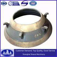 Buy cheap high manganese steel cone crusher bowl liner cone crusher mantle cone crusher spare parts from wholesalers